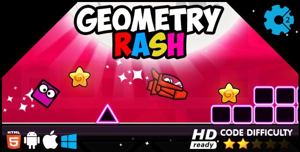 Geometry Rash HTML5 Game - CodeCanyon Item for Sale