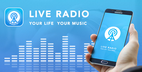 Live Radio with material design - CodeCanyon Item for Sale