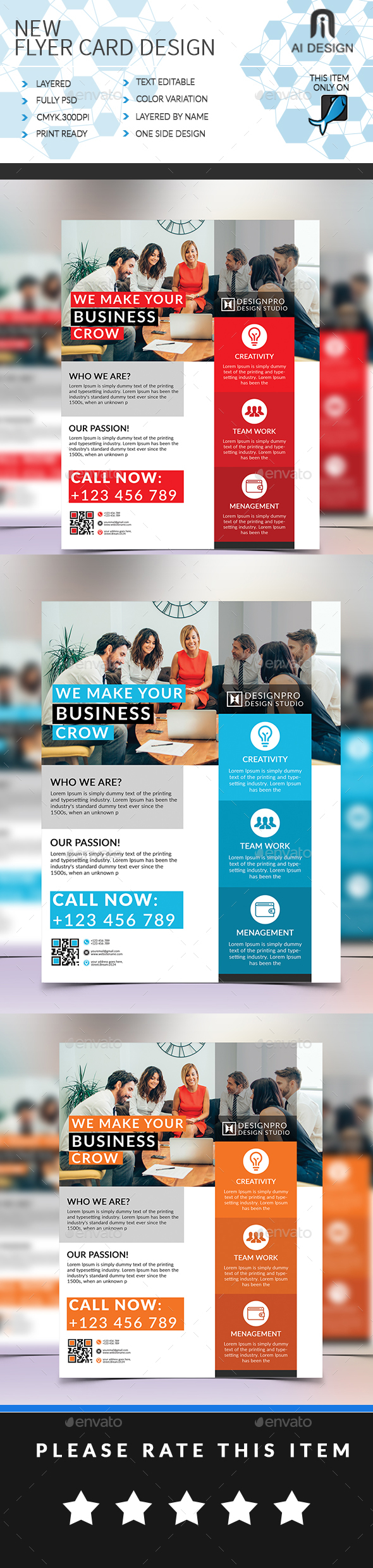 New Corporate Flyer - Corporate Flyers