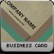 Minimal Vintage Business Card - GraphicRiver Item for Sale