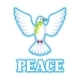 White Dove of Peace Bears Olive Branch - GraphicRiver Item for Sale
