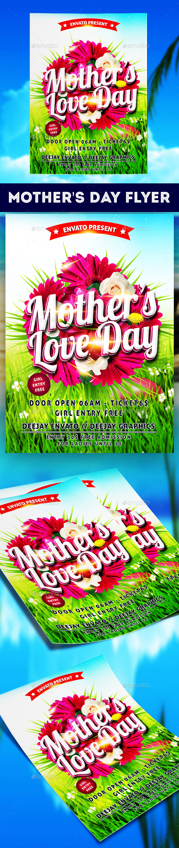 Mothers Day Flyer - Church Flyers