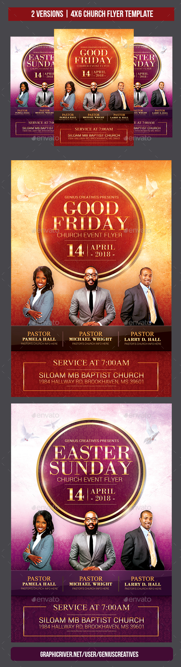 Church Flyer Template - Church Flyers