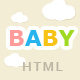 Baby Store HTML5 Template - ThemeForest Item for Sale