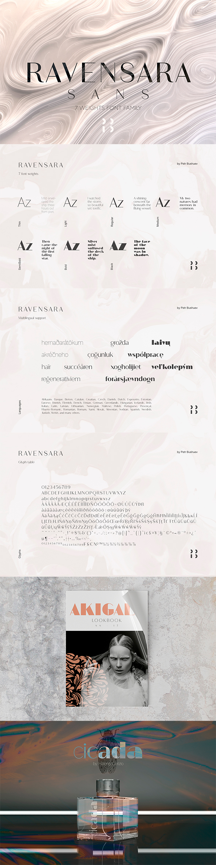 Ravensara Sans - Sans-Serif Fonts