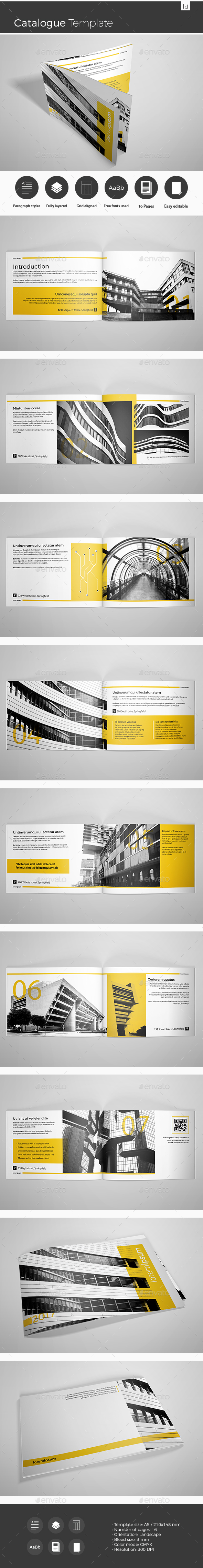 Catalogue Template - Catalogs Brochures