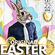 Original Easter A4 Poster - GraphicRiver Item for Sale