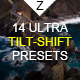 14 Ultra Tilt-Shift Ligtroom Presets - GraphicRiver Item for Sale