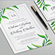 Leaf Wedding Invitation - GraphicRiver Item for Sale