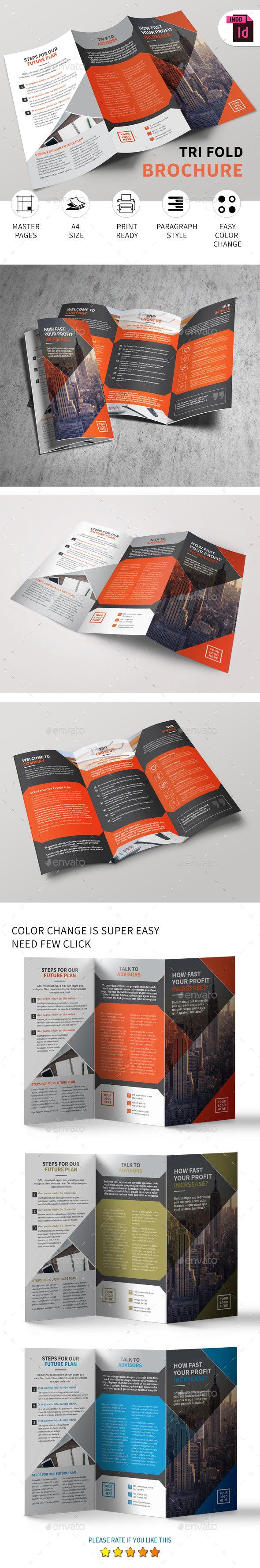 Tri-Fold Brochure vol - 10 - Corporate Brochures