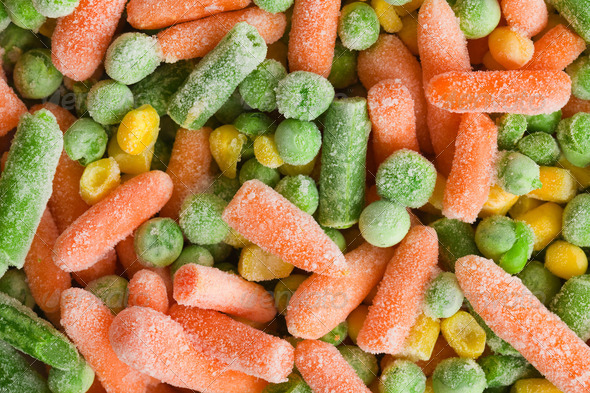 frozen vegetable - Stock Photo - Images