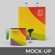 Event Stand / Trade Show Booth Mockup / Pop Up Stand - GraphicRiver Item for Sale