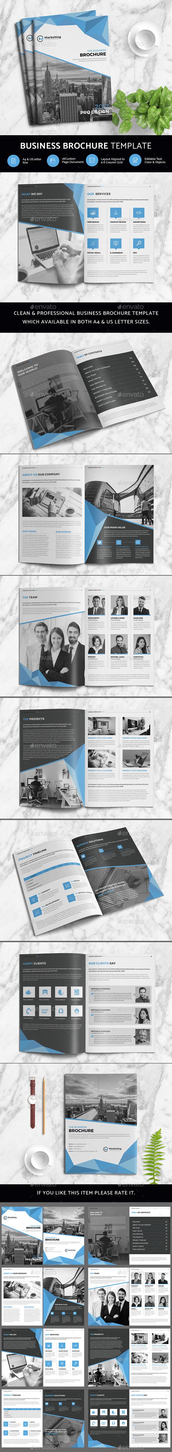 Business Brochure - Print Templates