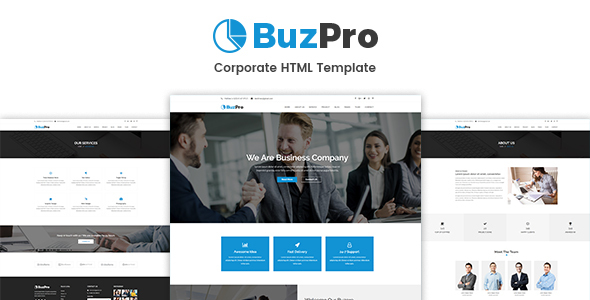 Buzpro – Corporate HTML Template - Business Corporate
