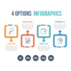 4 Options Infographics - GraphicRiver Item for Sale