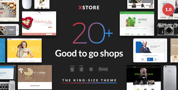 XStore - Responsive eCommerce HTML Template - Fashion Retail