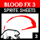 Blood Sprite FX for Games #3 - GraphicRiver Item for Sale