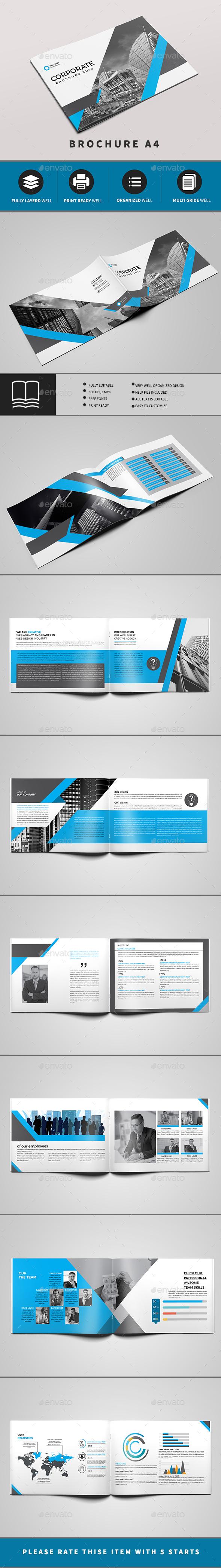 Corporate Brochure 16 PAGE - Brochures Print Templates