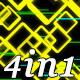 Slow Glow - VJ Loop Pack (4in1) - VideoHive Item for Sale