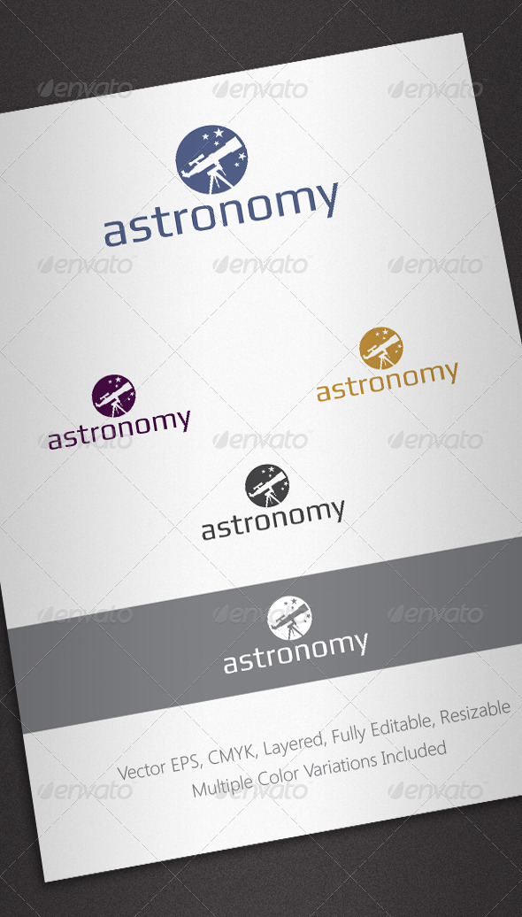 Astronomy Logo Template - Objects Logo Templates