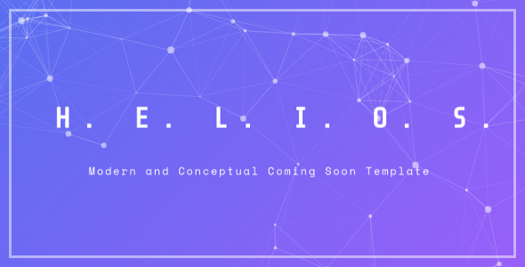 Helios – Coming Soon Template