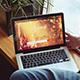 PSD Laptop Mockup Freelancer Sight - GraphicRiver Item for Sale