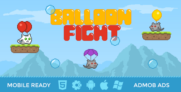 Balloon Fight - HTML5 Mobile Game - CodeCanyon Item for Sale