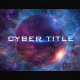 Cyber TItle Opener - VideoHive Item for Sale