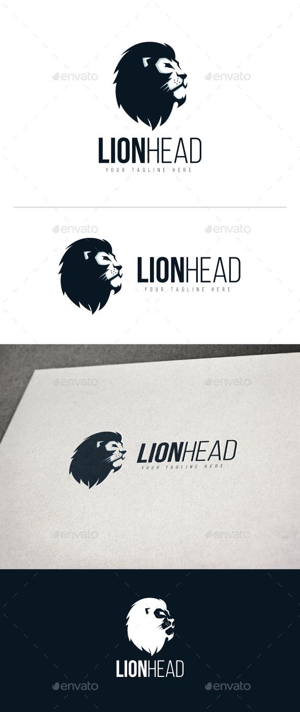 Lion Head Logo - Animals Logo Templates