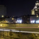 Night Highway Traffic Through Old City Philadelphia - VideoHive Item for Sale