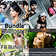 4 Collage Style Fb Timeline Cover Bundle - GraphicRiver Item for Sale