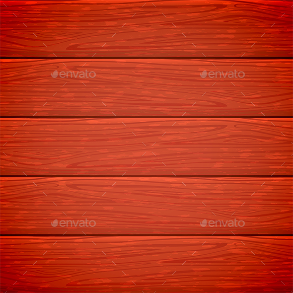 Red Wooden Background - Backgrounds Decorative