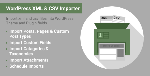 ImportWP Pro - WordPress XML & CSV Importer - CodeCanyon Item for Sale
