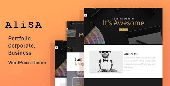 Alisa - Responsive WordPress Theme - Creative WordPress