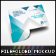 File Folder Mockup V2 - GraphicRiver Item for Sale