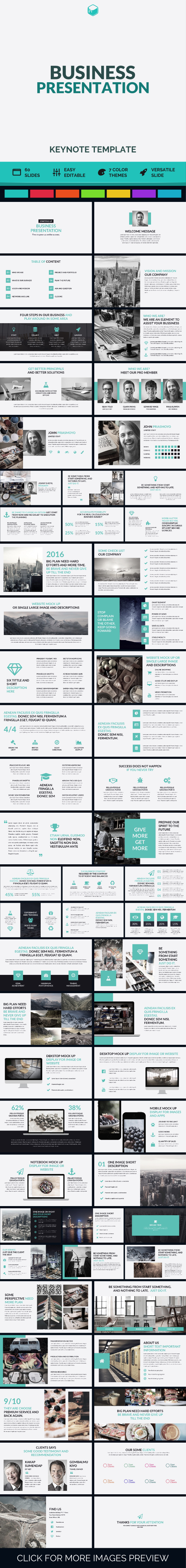 Business Presentation - Keynote Template - Business Keynote Templates