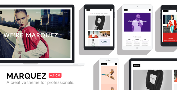 Marquez – A Creative WordPress Theme for Creatives and Agencies