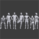 Lowpoly People Sports Pack - 3DOcean Item for Sale
