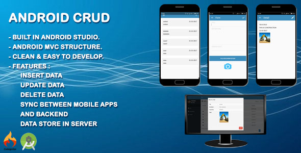 Android CRUD Apps - CodeCanyon Item for Sale