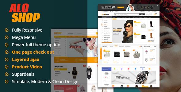 Alo Shop - Super Market Responsive Magento2 Theme - Magento eCommerce
