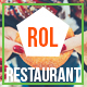 Rol Restaurant - One page Bootstrap Theme - ThemeForest Item for Sale