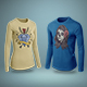 T-Shirt Long Sleeve Mock-Up Vol.3 - GraphicRiver Item for Sale