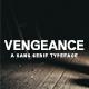 Vengeance Sans Serif Typeface - GraphicRiver Item for Sale