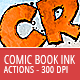 Comic Book Ink Actions - 300 DPI - GraphicRiver Item for Sale
