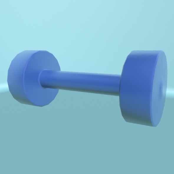 Dumbbell 1 - 3DOcean Item for Sale