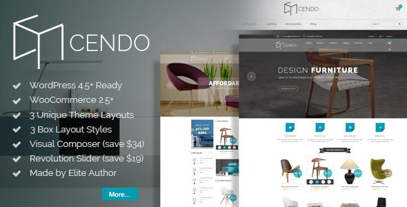 VG Cendo - WooCommerce WordPress Theme for Furniture Stores - WooCommerce eCommerce