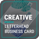 Creative Business Card & Letterhead - GraphicRiver Item for Sale