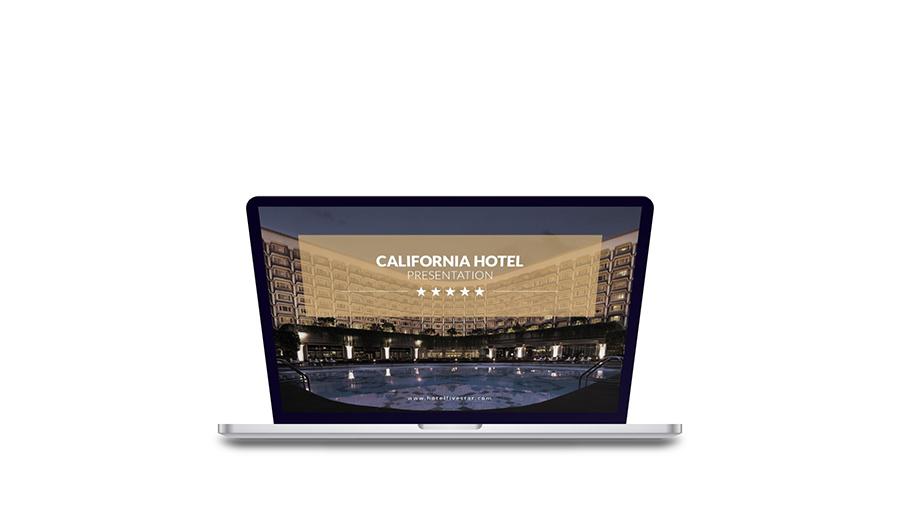 hotel powerpoint presentation templateeditorialmonster, Modern powerpoint
