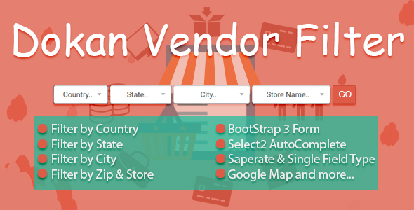Dokan Vendor Filter - CodeCanyon Item for Sale