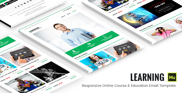 Learning – Responsive Online Course & Education Email Template